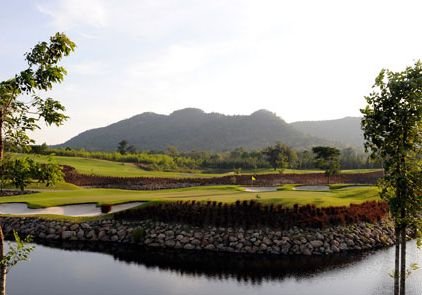 Thailand black mountain golf course